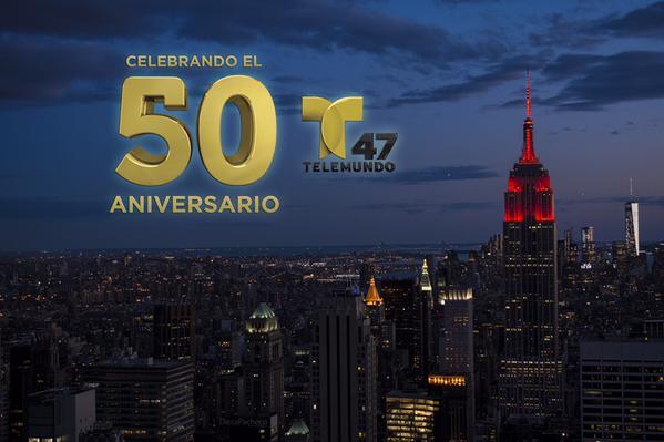 Telemundo 47 50 años